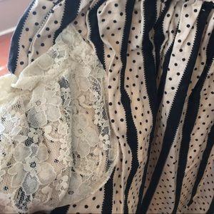 Persnickety Black & Cream Dress/Tunic